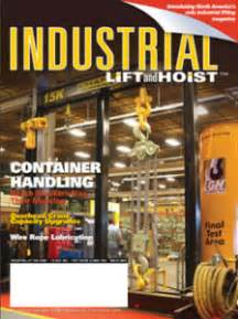 Industrial-Lift-and-Hoist Magazine-Cover