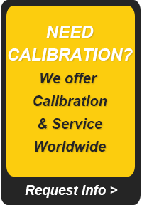 Need Calibration? We offer calibration & service worldwide