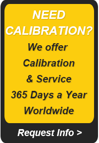 Calibration and Service Banner
