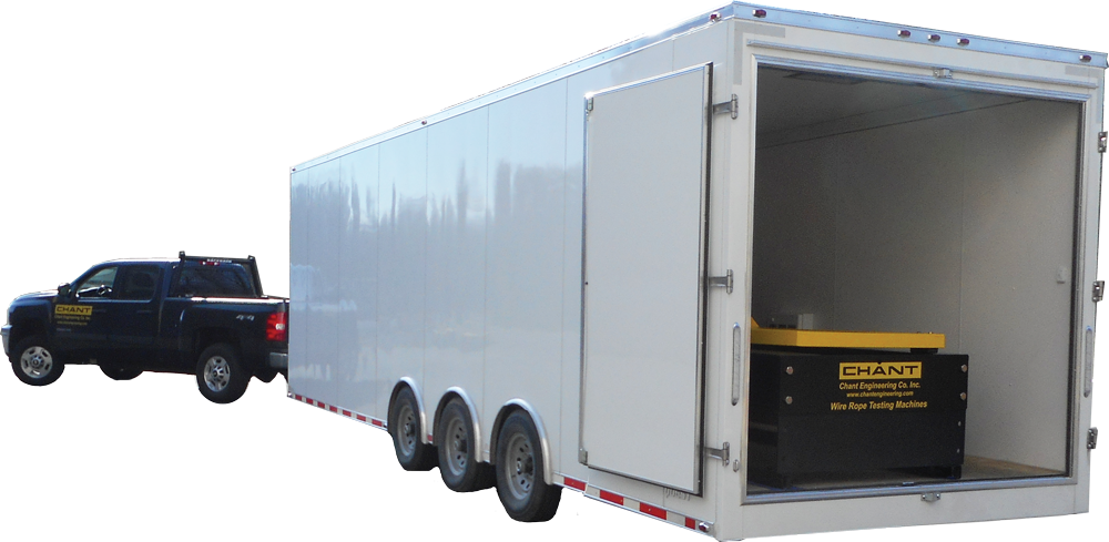 Mobile Test Bed With Enclosed Trailer