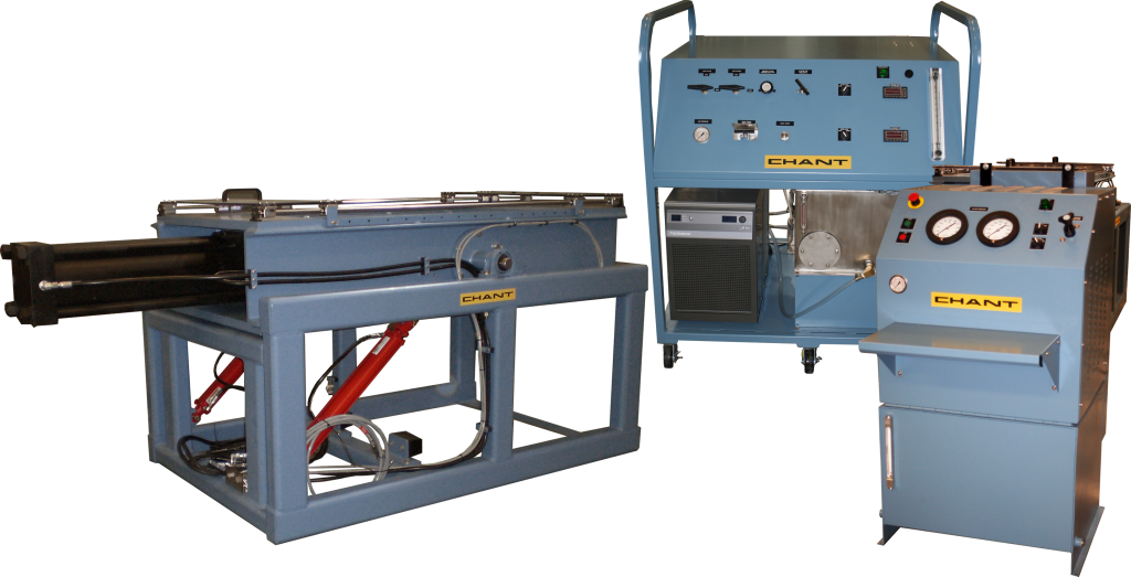 Model 10730-01: 300K Clamping / 10,000 Psi Static Pressure Hydrostatic Test Station