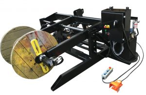 Heavy Duty Take-up / Pay-Out Reeling Machine