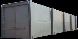 Large Hydrostatic Test Bunker