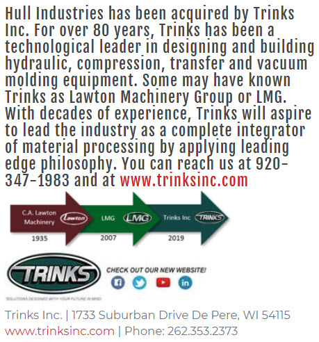 Hull Industries is now doing business as Trinks, Inc.