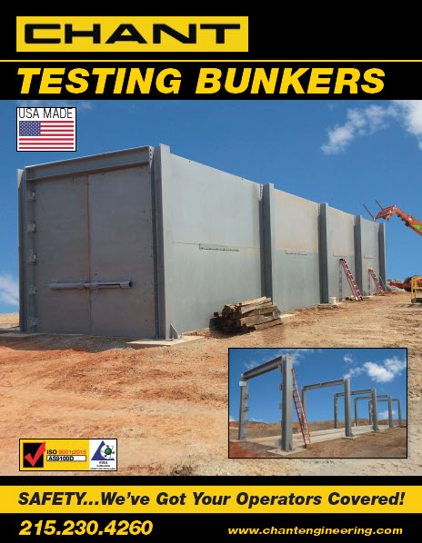 Chant Hydrostatic Test Bunkers Cover Image
