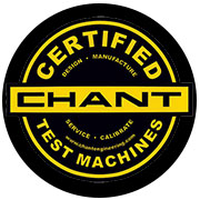 Chant Certified Test Machines