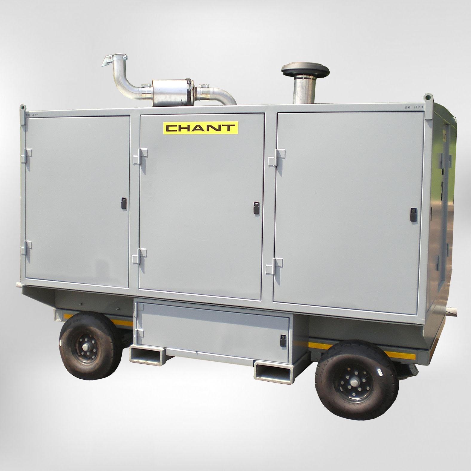 10008 Diesel Engine Driven Portable Hydraulic Test Cart