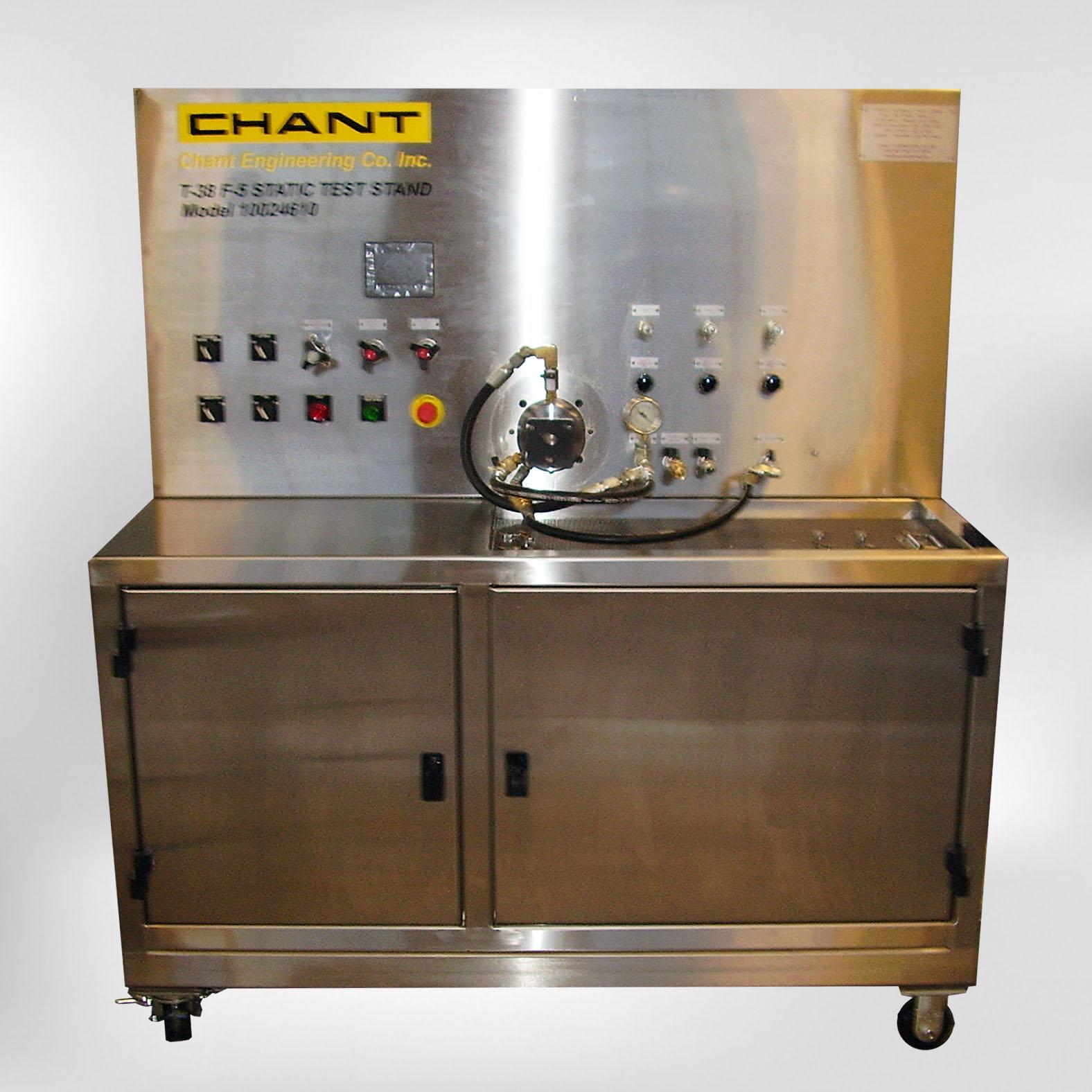 10024610 Static Hydraulic Test Stand