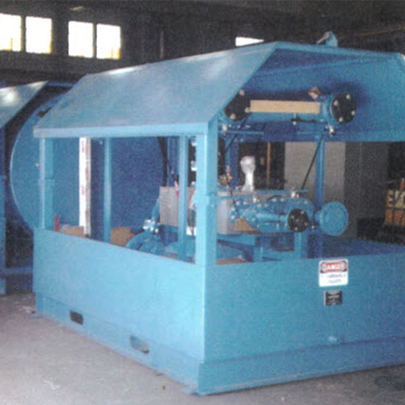 8420 Fuel Flow Test Stand