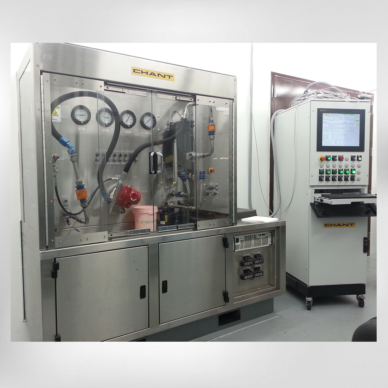 11037 Hydraulic Test Stand