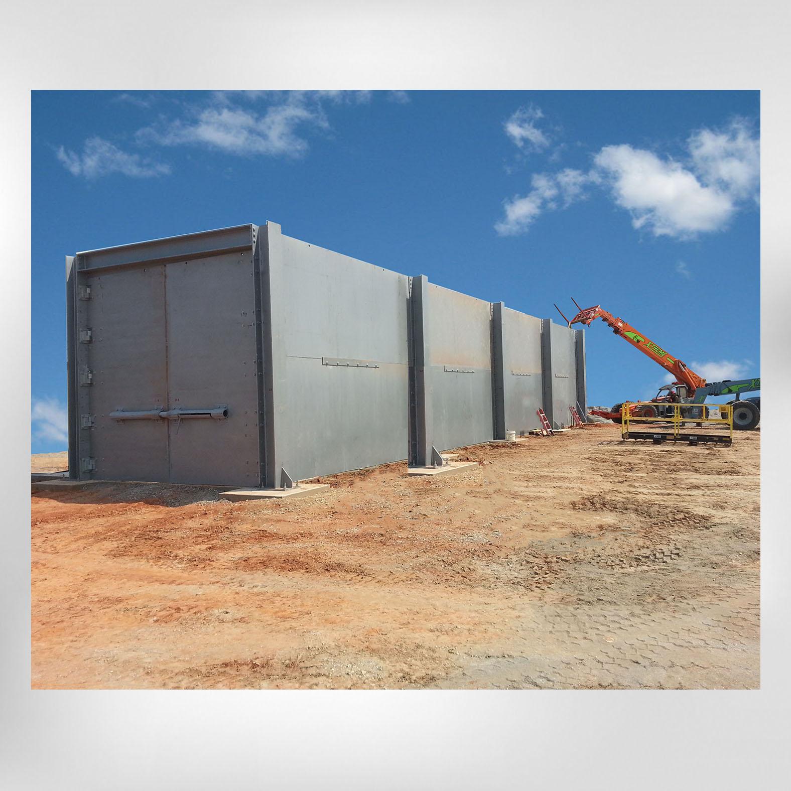 30100 Hydrostatic Test Bunker